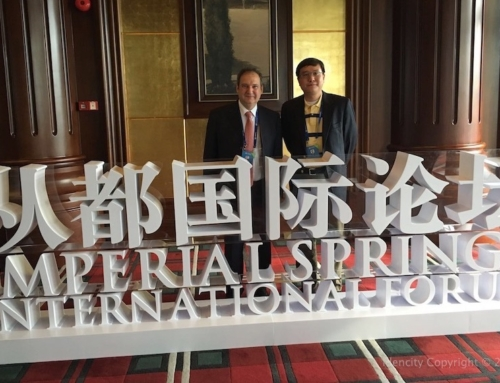 IdenCity participates in the Imperial Spring Leadership Forum on Inclusive, Sustainable and Resilient Cities in the OBOR Initiative, in China
