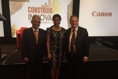 """IdenCity ha participado en el evento """"Construir Innova"""", en la ciudad de Panamá. Jordi Hereu,."""