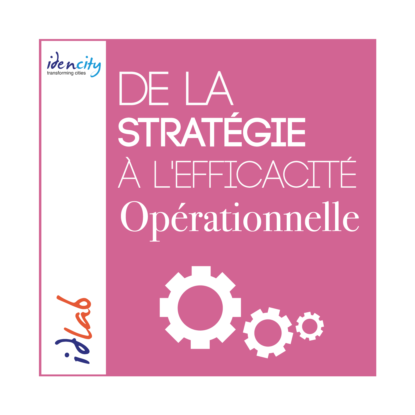 De la strategie a lefficacite opérationnelle - Idencity