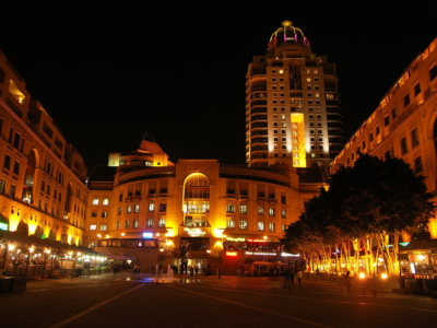 Nelson Mandela Square At Night 001